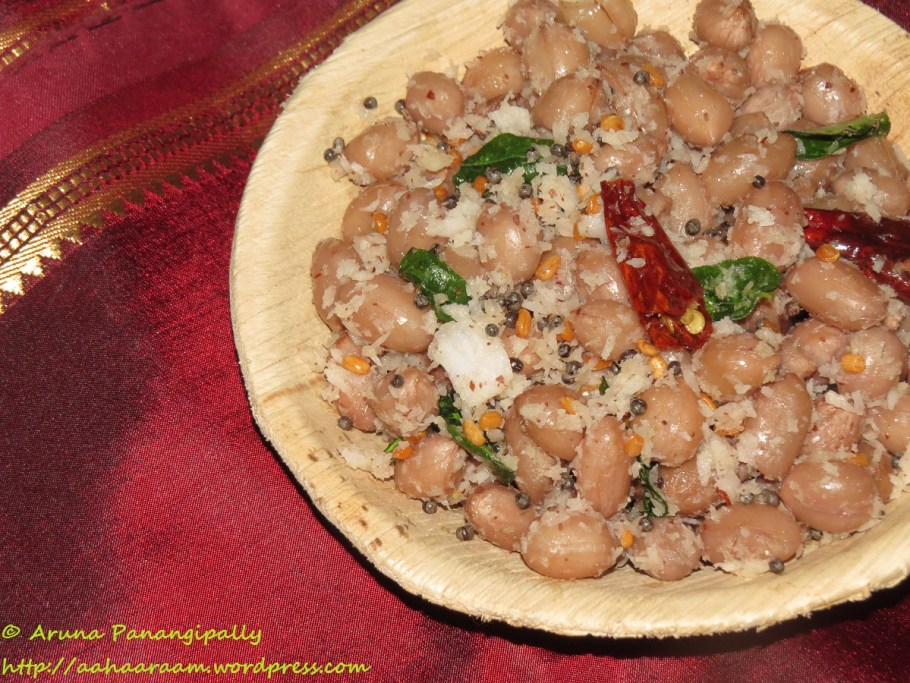 Peanut Sundal | Verakadalai Sundal | Palli Guggillu