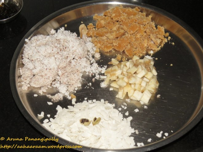 Step 6 - Ingredients for the Filling - Ela Ada or Elai Adai