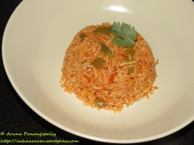 Thakkali Sadam, Tomato Annam, Tomato Rice
