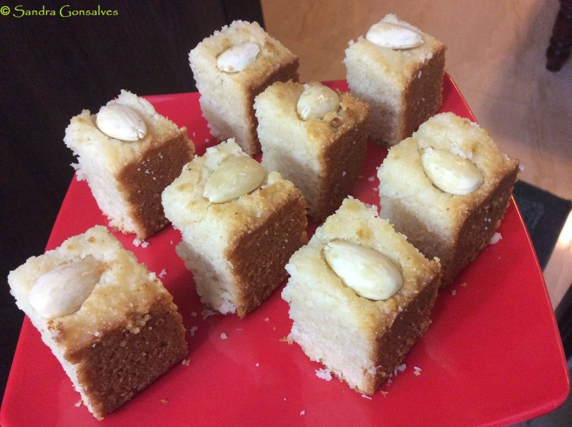 Eggless Goan Baath Cake Without Oven - Goan Christmas Recipe