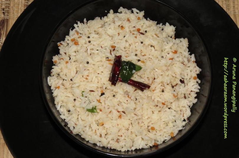Kobbari Annam | Coconut Rice | Thengai Sadam