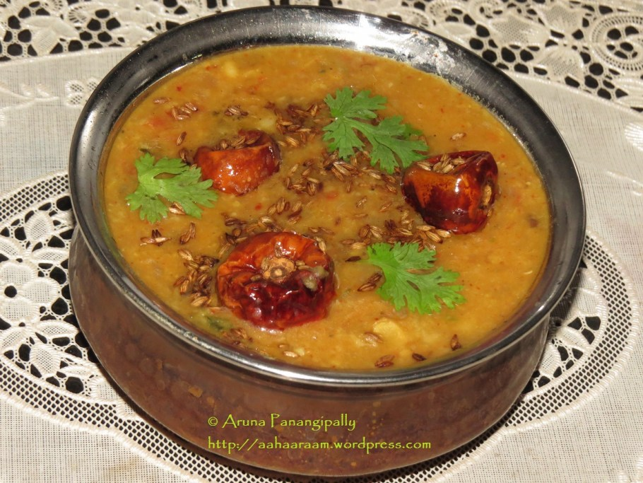 Dal Tadka - Dhaba Style
