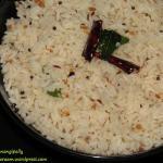 Kobbari Annam, Coconut Rice or Thengai Sadam