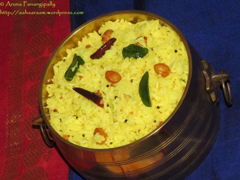 Nimmakaya Pulihora, Elumichai Sadam, Lemon Rice