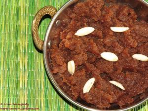 Shinghare ke Atte ka Halwa - Navratri Vrat or Upwas ka Khana - Navratri Vrat ka Khana Recipe