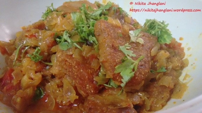 Aani Basar - A Sindhi Speciality