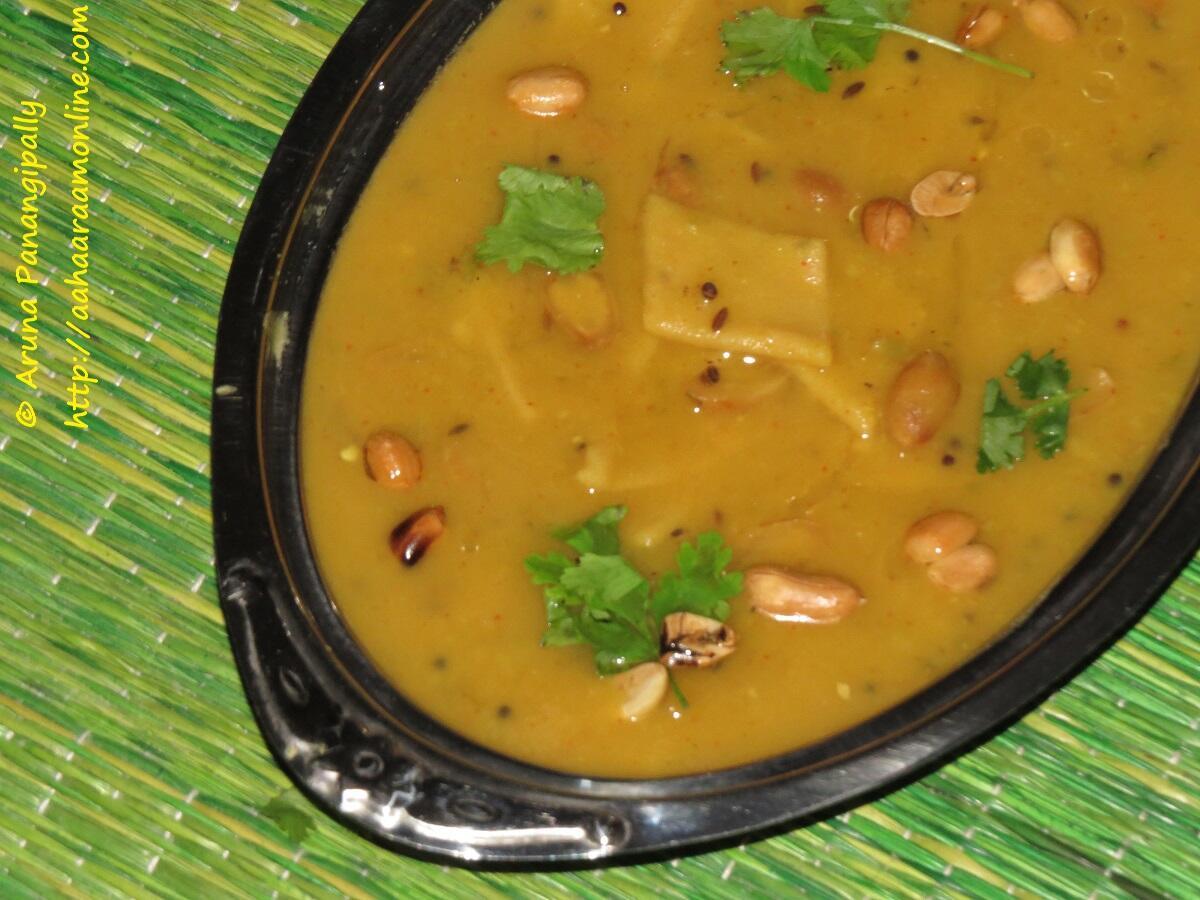 Dal Dholki - A Recipe from Gujarat