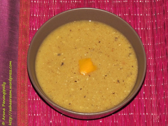 Black Eyed Peas and Pumpkin Soup, No Oil, Diet Healthy Recipe