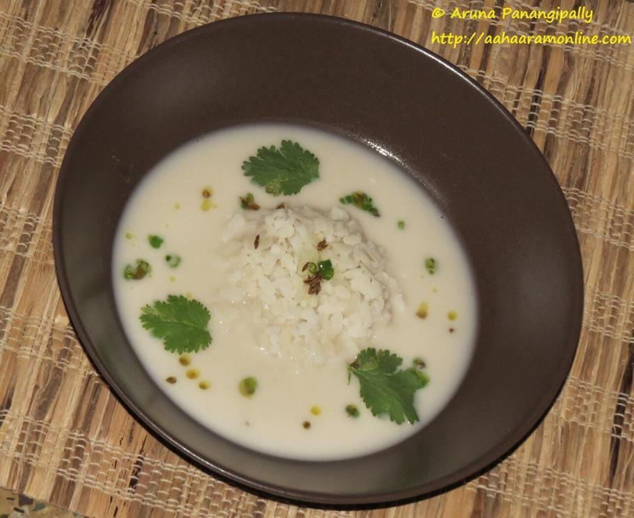 Kolache Pohe - A Snack from Konkan