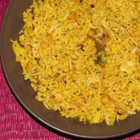 Hyderabadi Qubooli or Qabooli - Chana Dal Biryani