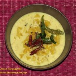 Pineapple Pachadi or Pineapple Kichadi - Kerala Onam Sadya Recipe - Kerala Onam Sadya Recipe