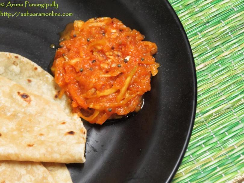 Kanda Kairi - Maharashtrian Raw Mango and Onion Relish