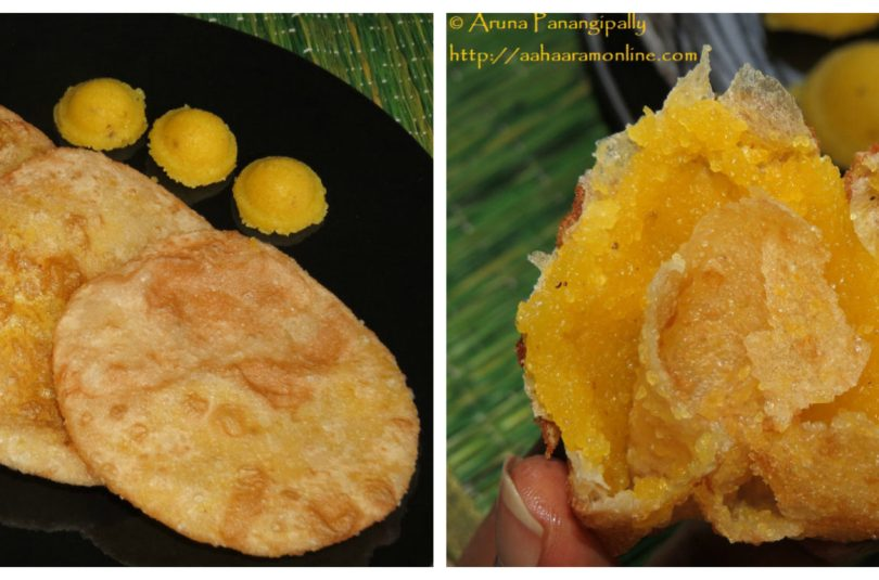 Sojjappalu – Andhra Style Halwa Puri – Guest Post for Cooking with Sapana