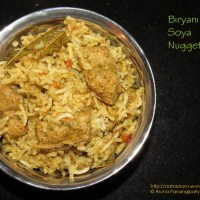 Biryani with Soya Chunks or Nuggets