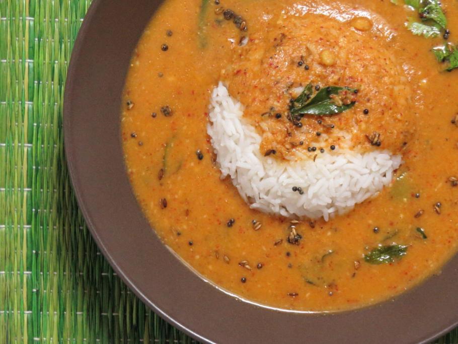 Obattu Charu is a rasam made with the hurana used to make holige