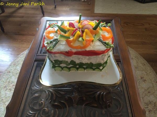 Smorgastorta - Swedish Savoury Sandwich Cake