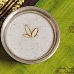 Vegan Gasgase Payasam, Gasagasala Payasam, Khus Khus Kheer, Poppy Seeds Kheer