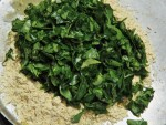 Add Chopped Washed Methi Leaves