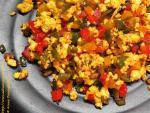 Low-Oil, Healthy Paneer_Bhurji with Bell Peppers