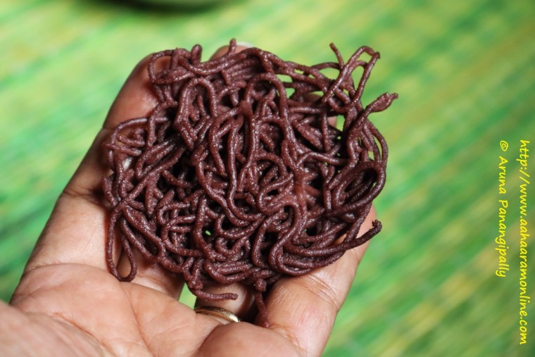 Springy, Soft, Perfect, Ragi Idiyappam