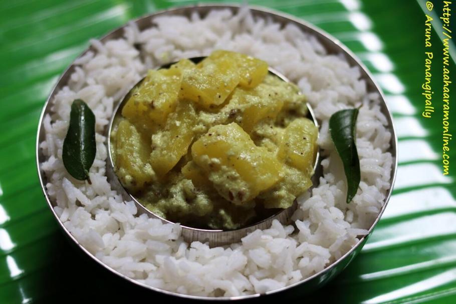 Green Papaya Avial | Paccha Papaya Avial Kootan