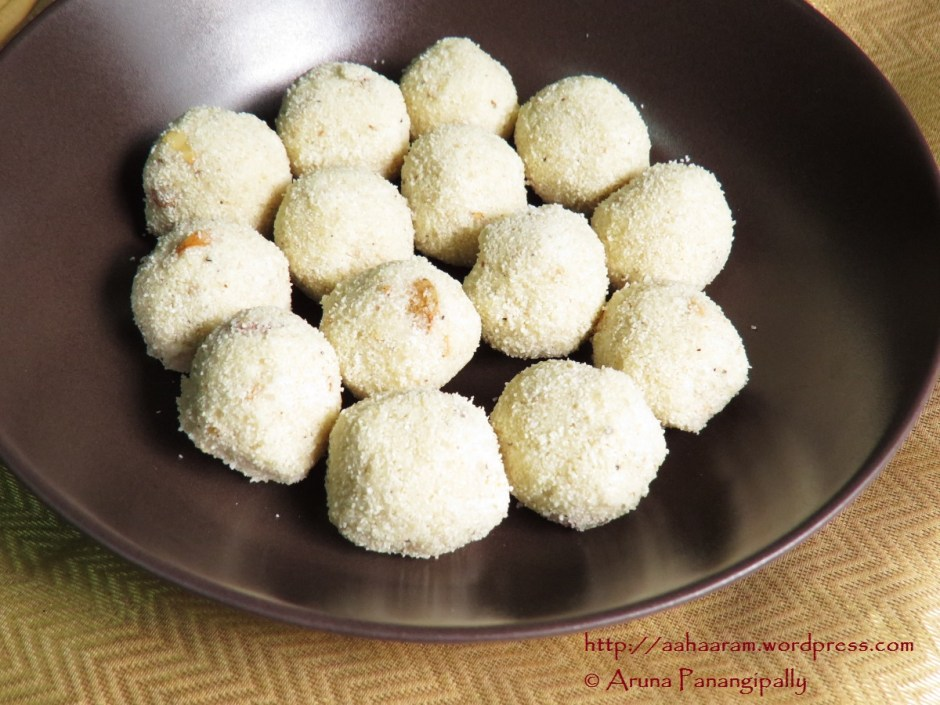Rava Laddu Without Milk
