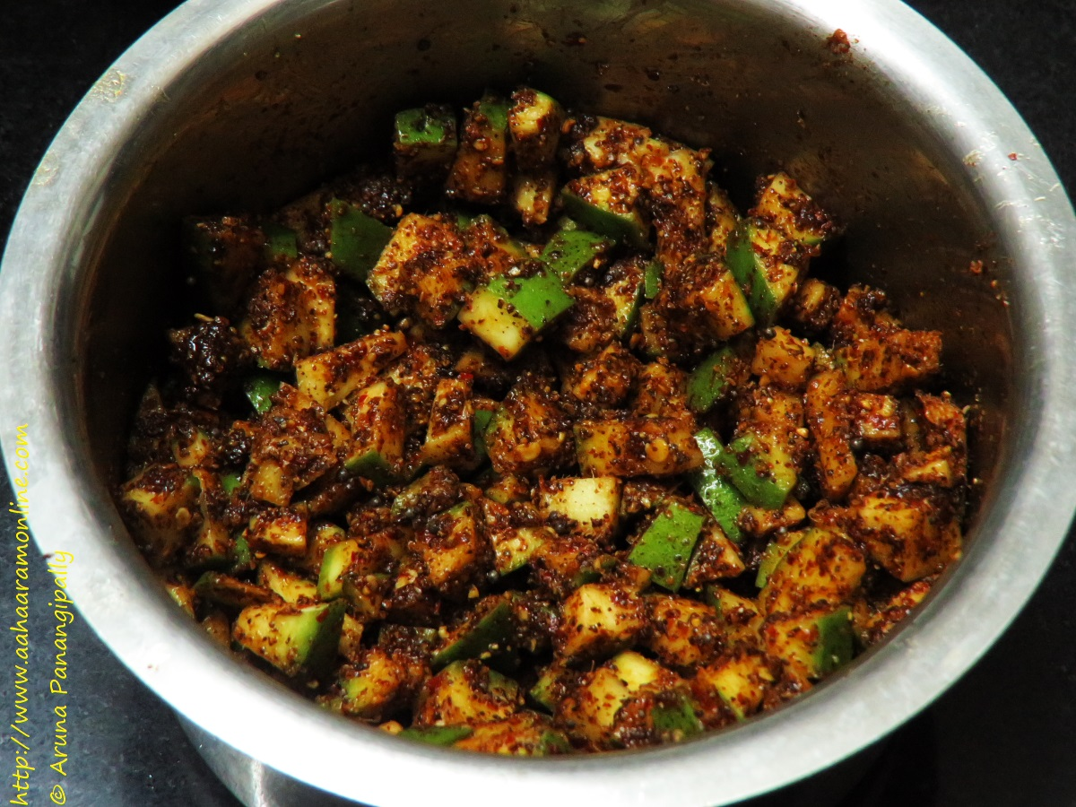 Instant Mango Fenugreek Pickle from Andhra Pradesh