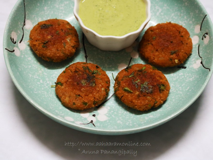Soya Tikki: A High-Protein Snack