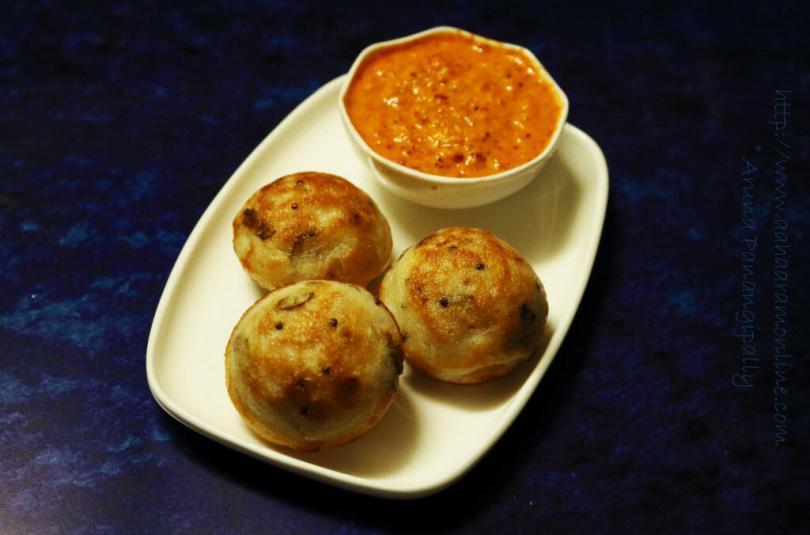 Kuzhi Paniyaram   Guest Post for Paarul'z Kitchen