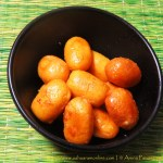 Chhena Gaja | Deep-Fried Freshly Made Cottage Cheese in Sugar Syrup