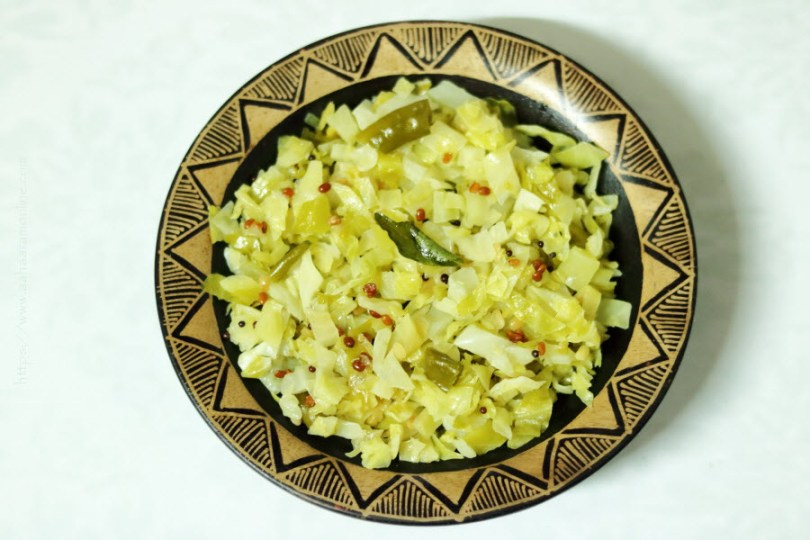 Andhra Cabbage Curry