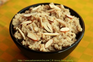 A Bowl of Khus Khus Halwa | Gasagasala Halwa | Poppy Seeds Halwa