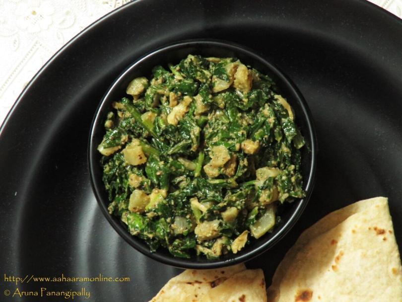 Punjabi Radish Leaves Stir Fry
