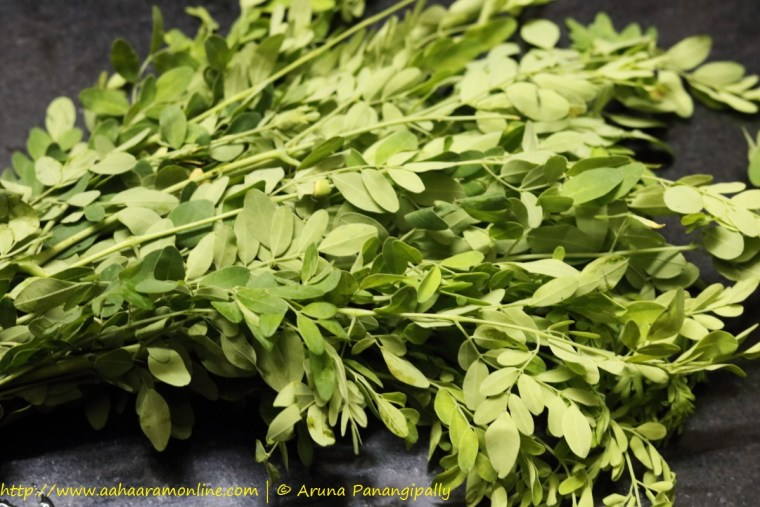 Murungai Keerai | Moringa Leaves | Drumstick Leaves