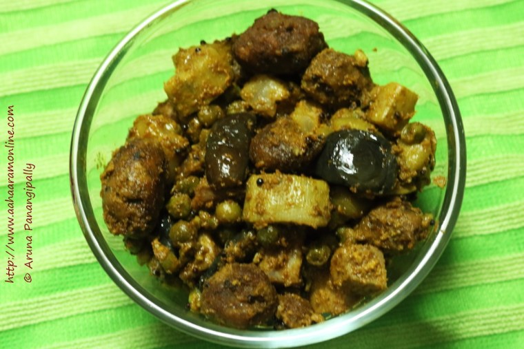 Panchkutiyu Shaak, A Gujarati Recipe