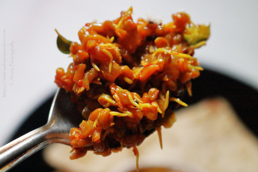 Sprouted Fenugreek Seeds Curry from Maharashtra