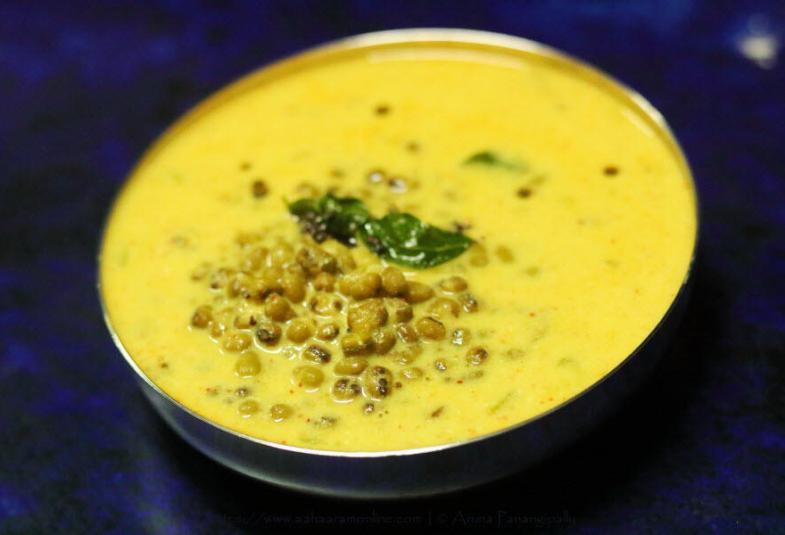 Khatta Mug | Khatta Moong | Green Gram in Yogurt