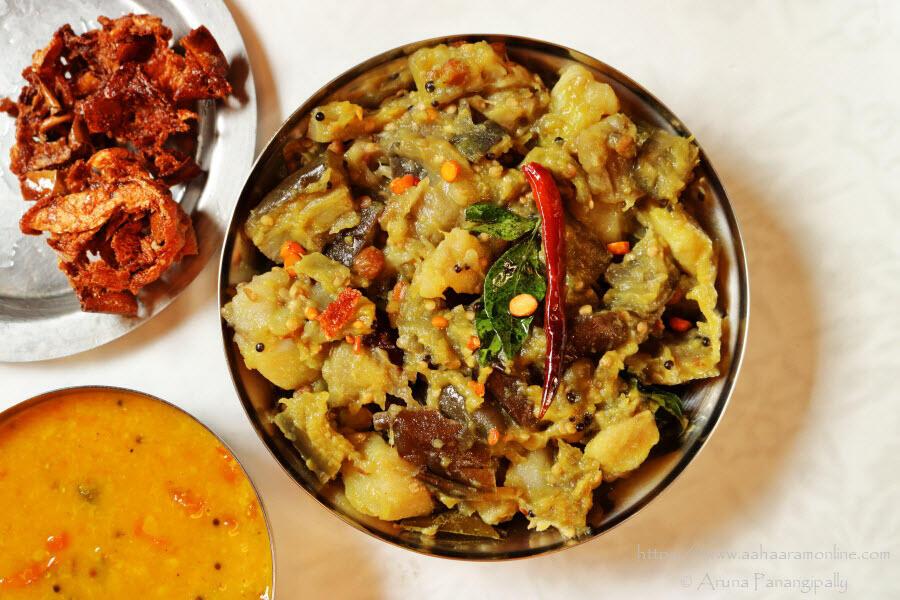Vankaya Bangala Dumpa Mudda Kura | Brinjal and Potato Mash from Andhra Pradesh