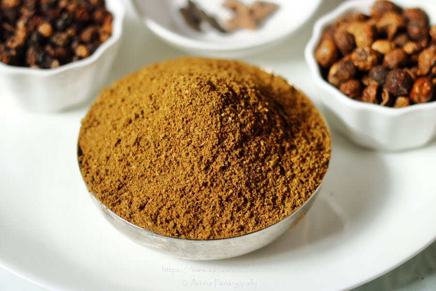 Angaya Podi | Medicinal Herbal Powder to Help Digestion After Giving Birth