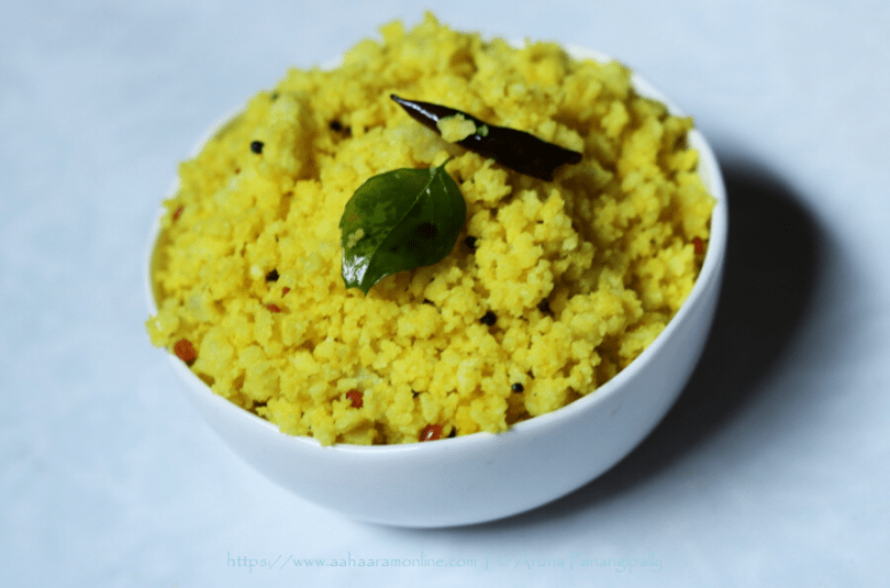 Lemon Idli Upma