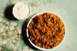 Tomato Rice | Thakkali Sadam | Tomato Annam