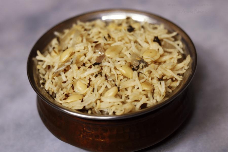Gujarati Vaal Ni Dal No Pulav | Vaal Rice