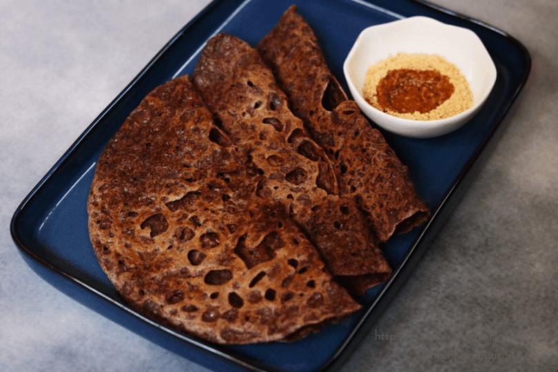 Instant Ragi Dosa   Nachni Dosa: Gluten-Free, Vegan, Weight-loss Recipe