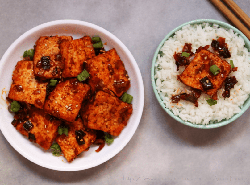 Dubu Jorim: Spicy Braised Tofu from Korea