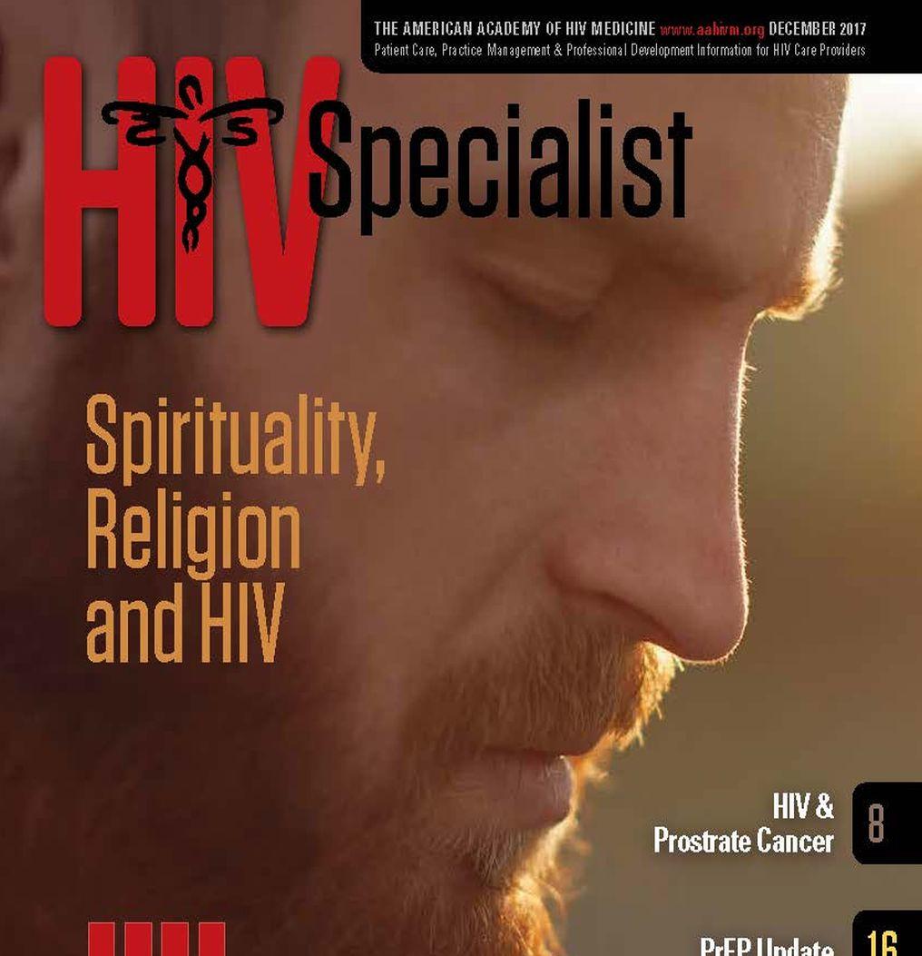 American Academy of HIV Medicine  HIV Specialist Magazine