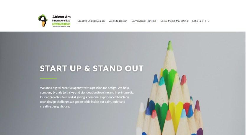 Home African Art Innovations Ltd