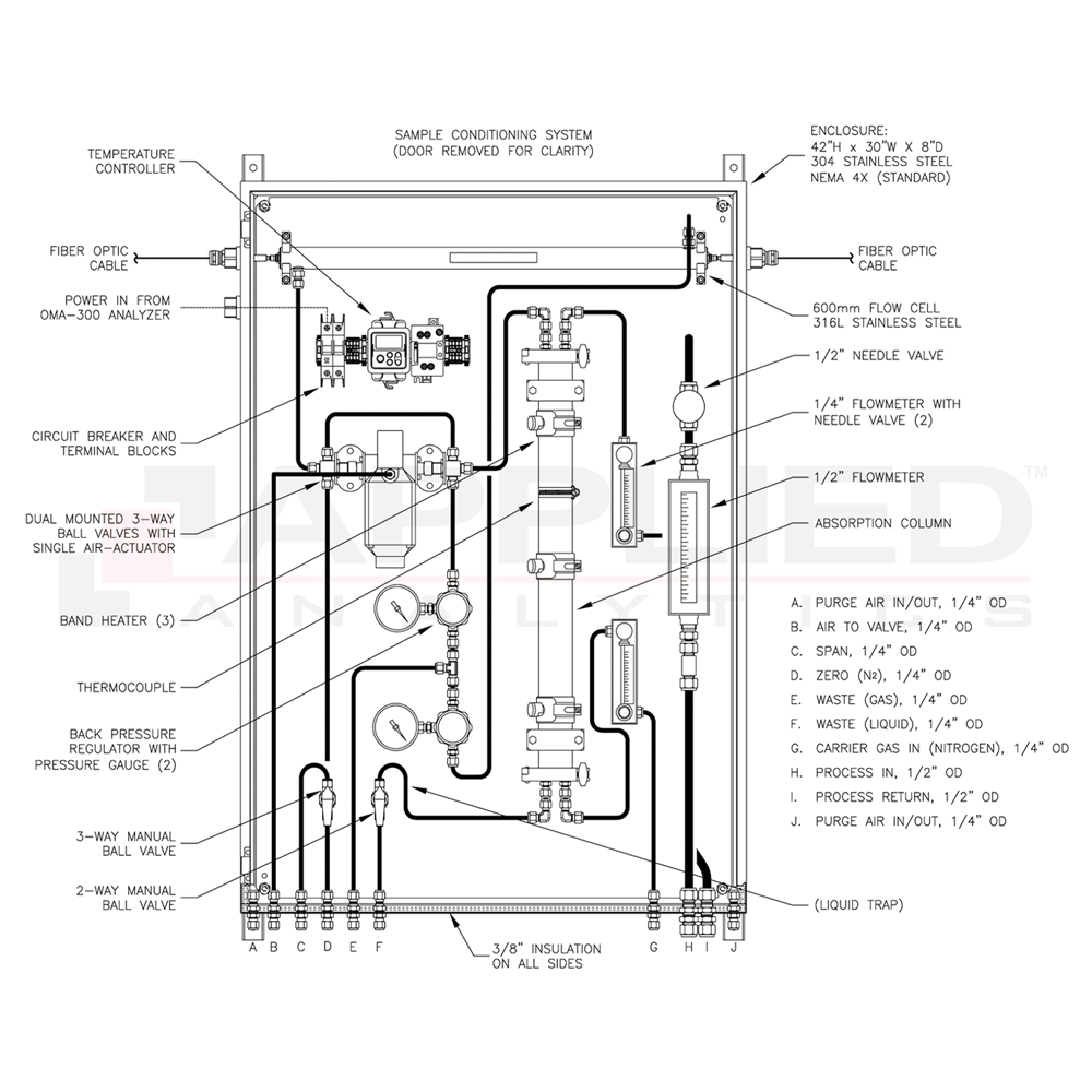 hight resolution of technical drawing brochure