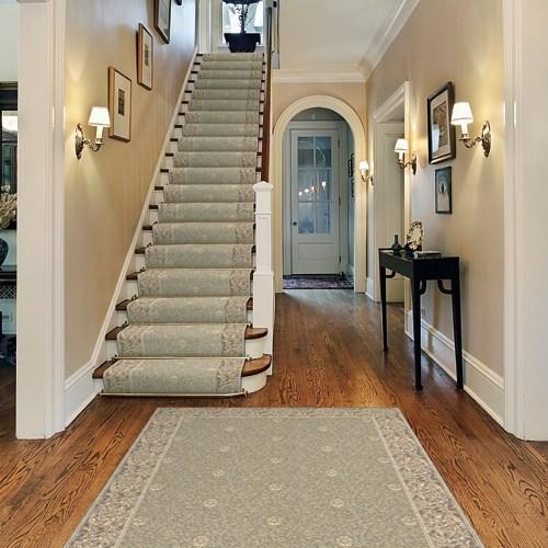Carpet Runners Aai Flooring Specialists | Stair Carpet With Border | Stairway | Design | Stair Runner Matching Landing | Runner | Cream
