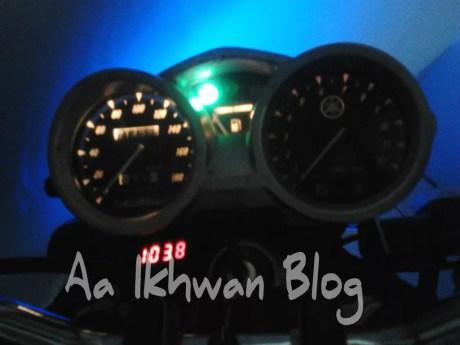 lampu speedo (rpm) mati