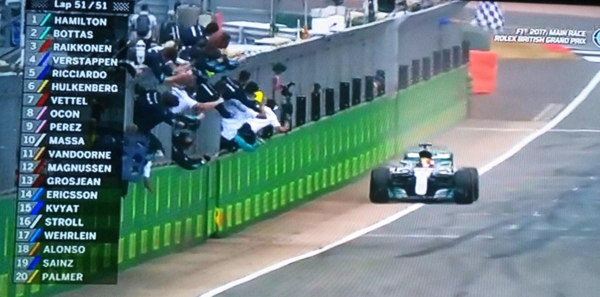 Hasil F1 Silverstone 2017, Hamilton Juara,  Bottas Kedua dan Raikkonen Ketiga